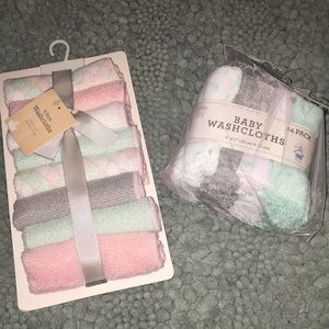 Other - Baby washcloths! NWT 32 total cloths